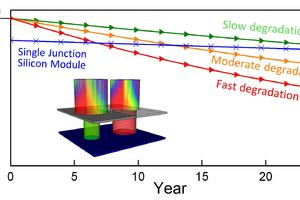 Lifetime energy yield and economic viability of perovskite/silicon tandem modules